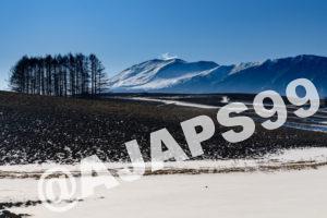 冬の浅間山と滝を巡る